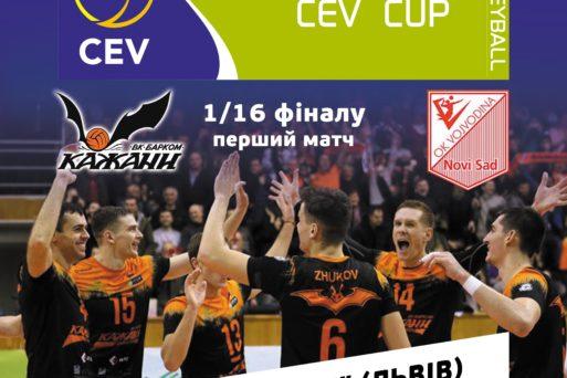 Матч з «Войводиною» «кажани» проведуть 6 грудня