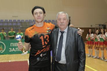 Колишній гравець «кажанів» Діденко – у складі «МХП-Вінниця»