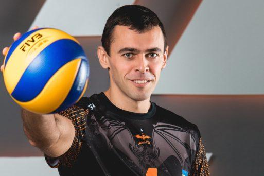 Юрій Паласюк, блокуючий ВК «Барком-Кажани»: «Найкраще моє перезавантаження – це сім'я»