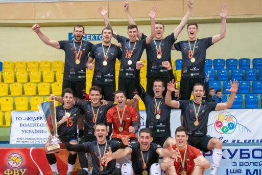 Втретє львівські «кажани» стали володарями Суперкубку України з волейболу (Відео)