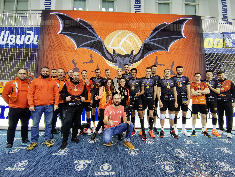 «Кажани» в Городку змагаються за Кубок України з волейболу