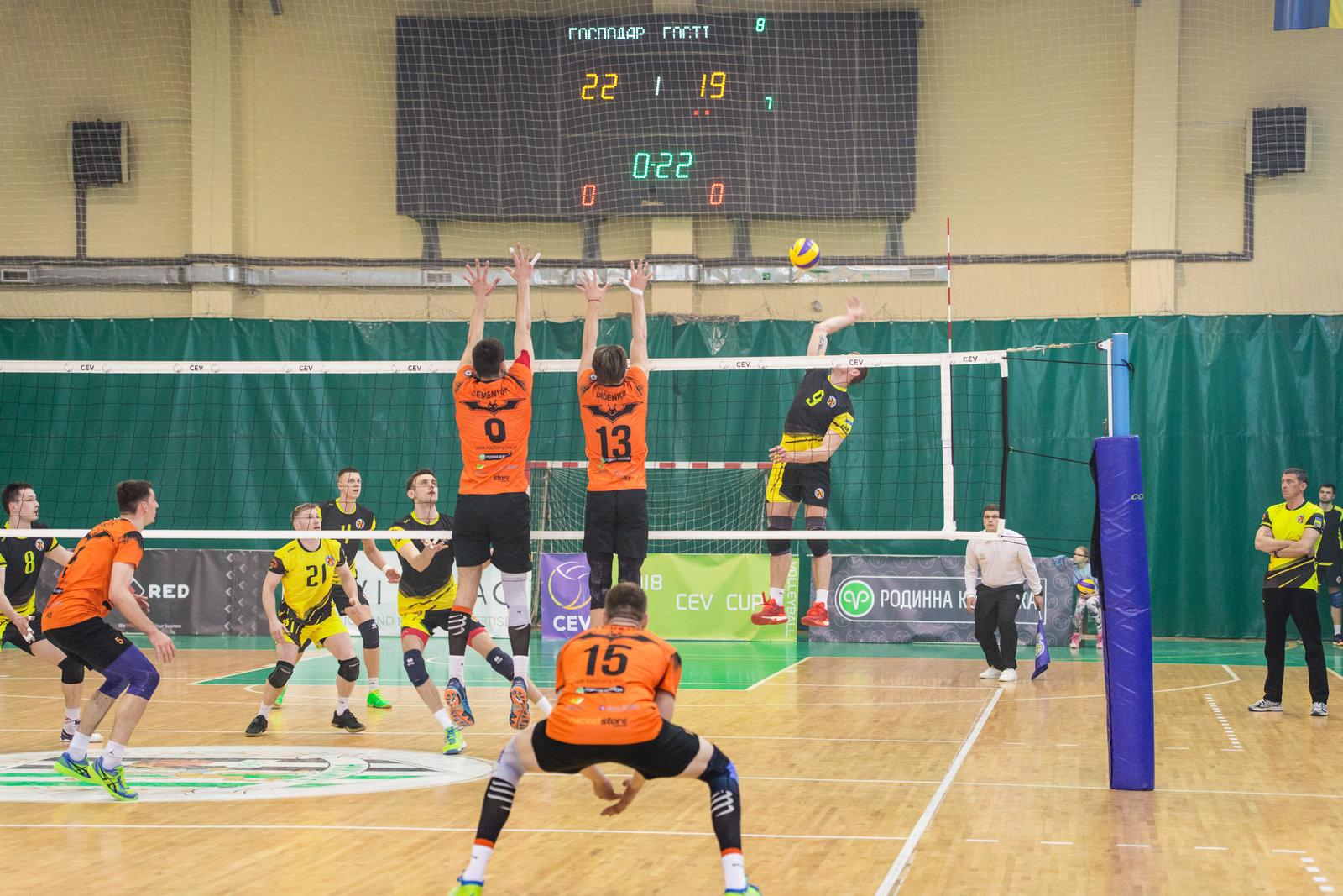 Львівські «кажани» продовжують боротьбу за чемпіонство