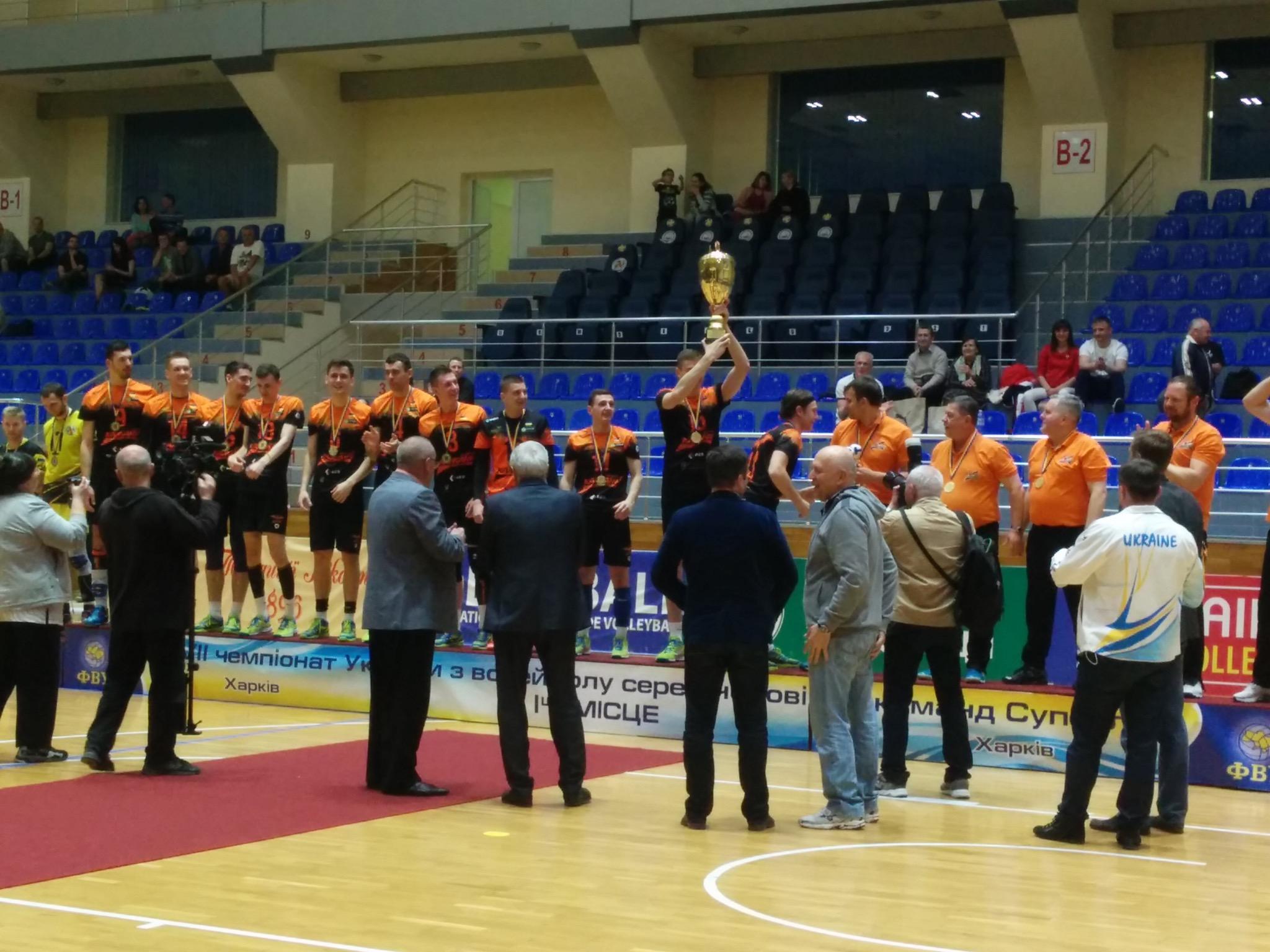 Нагородження кубком Чемпіонів України (29 квітня, фотозвіт) - 3