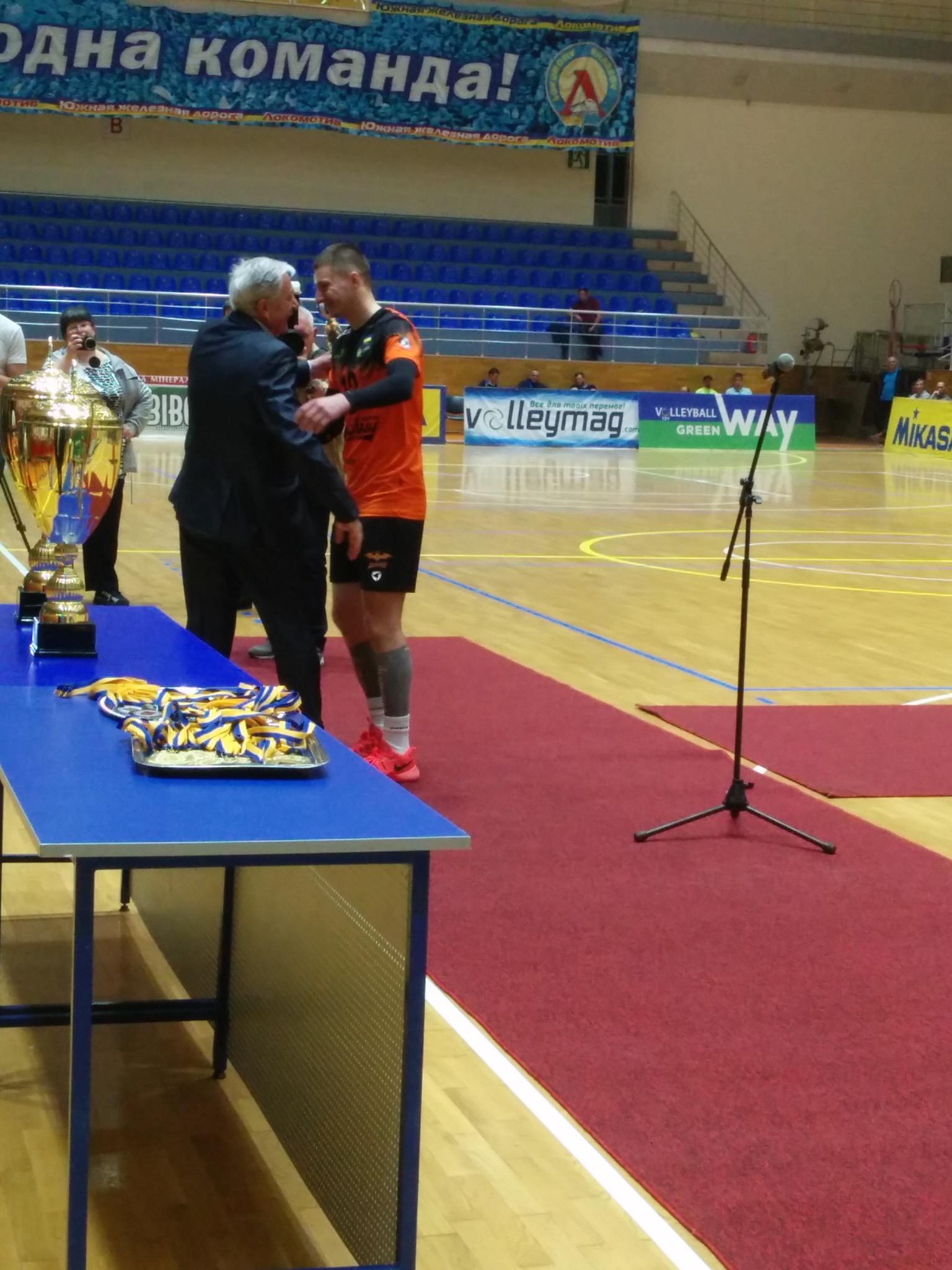 Нагородження кубком Чемпіонів України (29 квітня, фотозвіт) - 5