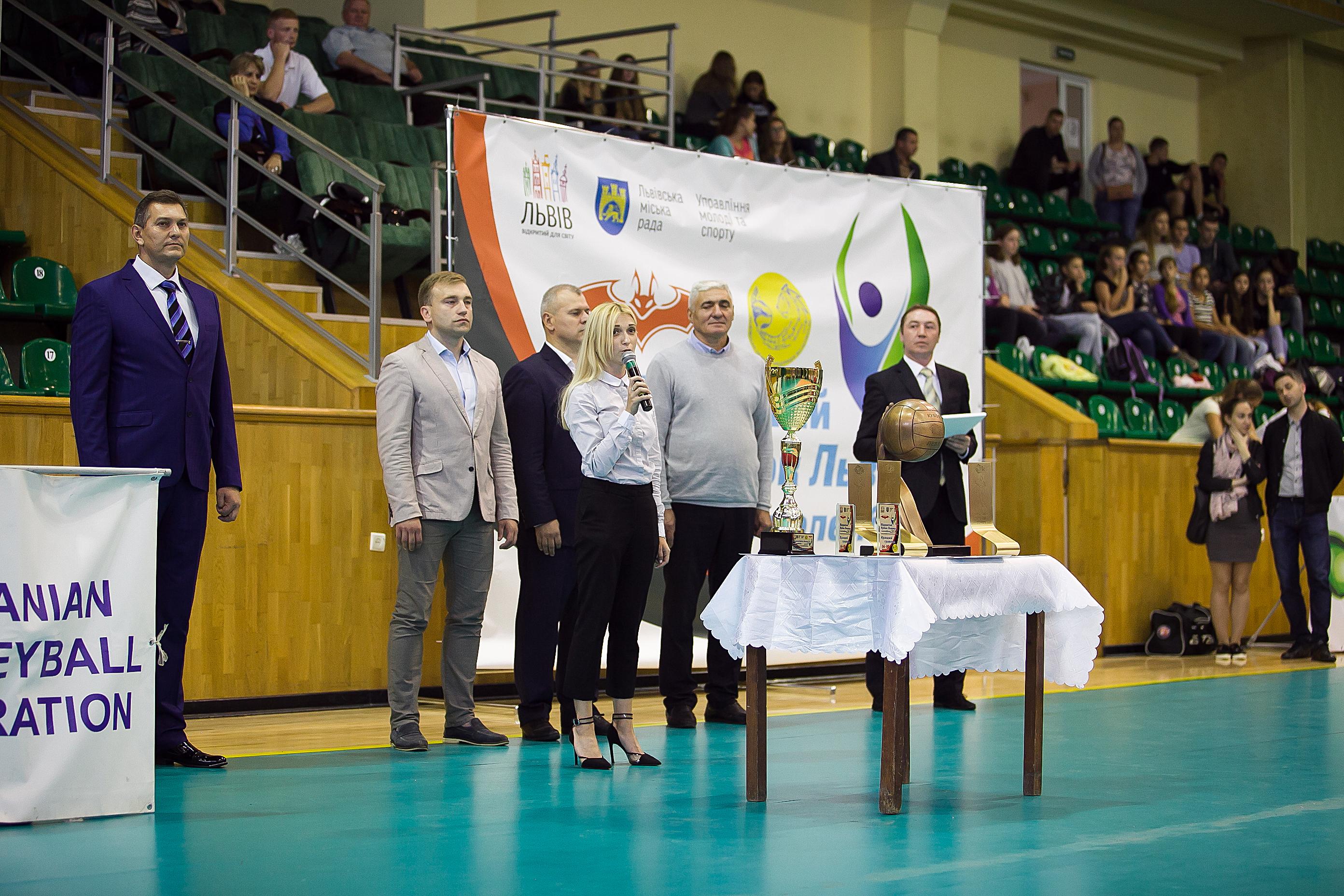 Відкритий Кубок Львова  з волейболу. Відкриття. ФОТОЗВІТ - 3