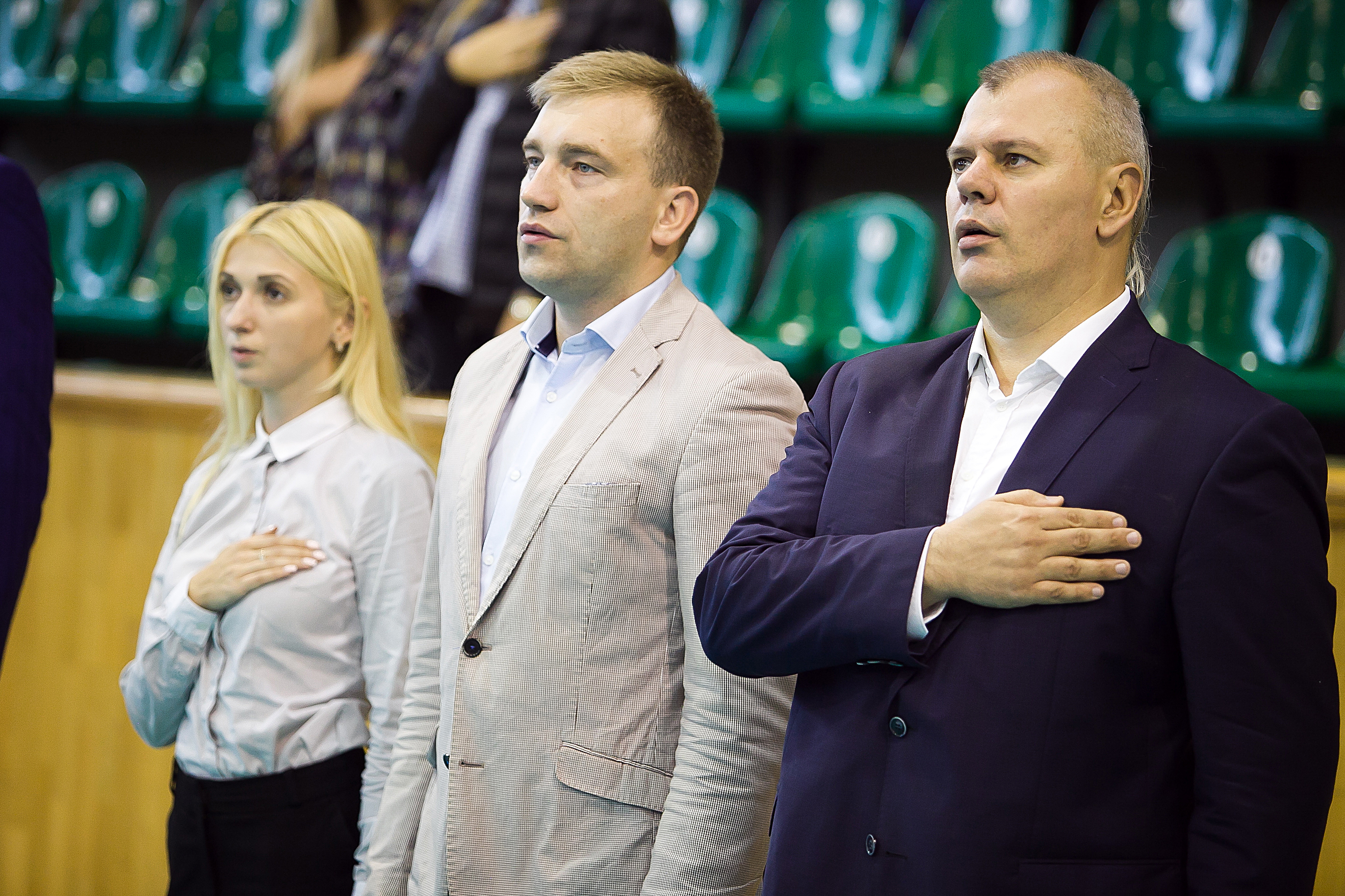 Відкритий Кубок Львова  з волейболу. Відкриття. ФОТОЗВІТ - 14