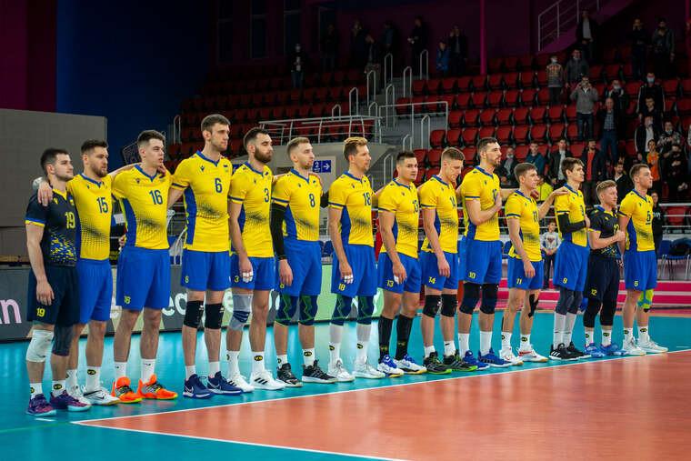 Збірна України з волейболу виграла товариський турнір Кубок Хортиці
